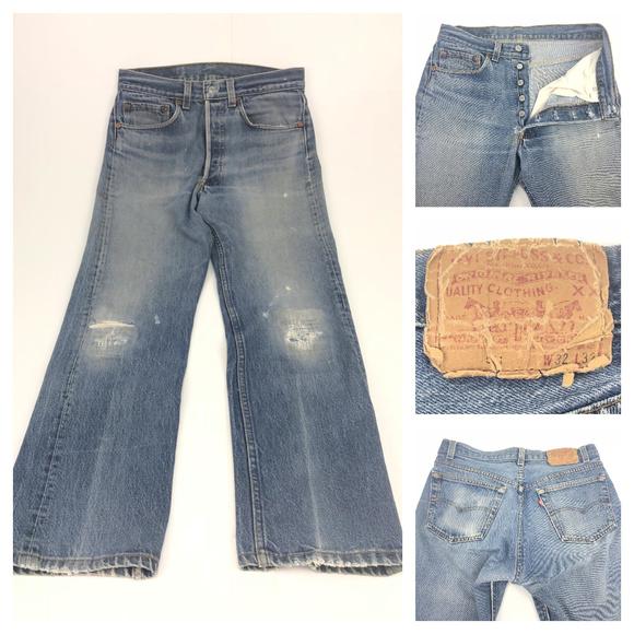 a72e1efd Levi's Jeans | Levis Vintage 501 Button Fly 30 X 275 Actual | Poshmark
